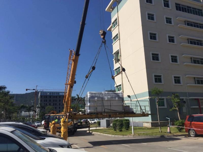 惠州市第一家专业大型机械设备吊装公司服务首选(明通集团)