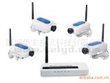 供应一拖四 无线监控摄像机 远程无线监控器 网络摄像机 无线监控