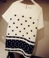 2014孕妇装连衣裙新款雪纺孕妇连衣裙点点夏装短袖连衣裙