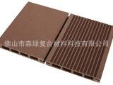 厂家供应木塑地板115-19mm空心双面 广东佛山 木塑生态木材