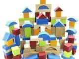 外贸英国原单ELC积木玩具 100粒实木积木批发 儿童玩具木制积