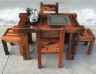 老船木茶台 船木一品家具厂为你打造老船木茶台 百分百真船木