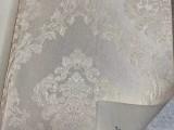 济南墙布 济南加厚提花墙布无缝壁布环保壁布