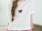 2014夏装新款大象刺绣宽松显瘦短袖T恤女 棉麻女文艺范女装