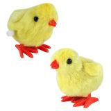 小鸡发条益智儿童塑料玩具