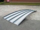 钢结构直立锁边铝镁锰金属屋面板厂家直销