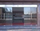 上海宝山区维修地弹簧推拉玻璃门 定做玻璃门