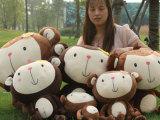 情侣猴 恋爱猴 婚庆猴子毛绒玩具布娃娃公仔香蕉猴子儿童女友礼品