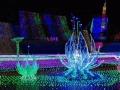 灯光造型制作灯光展览道具展览个性定做大型活动道具