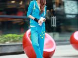 2014韩版女士运动套装春秋款 女时尚修身休闲运动服套装卫衣清仓