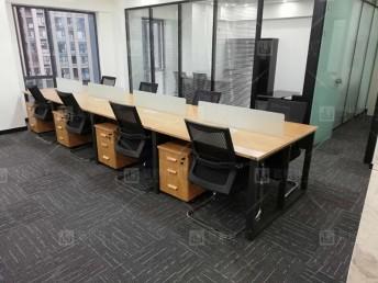 成都全新辦公家具屏風隔斷電腦桌工位桌辦公桌卡座