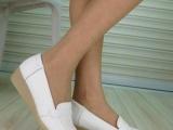 厂家供应真皮护士鞋 浅口真皮护士鞋 质量