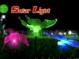 太阳能灯、太阳能七彩变色草坪灯、太阳能灯