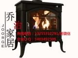 成都乔治汉斯燃木真火壁炉 别墅家用铸铁真火壁炉价格及方案