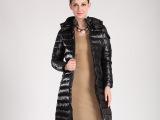 2014冬装新款欧美羽皇羽绒服女中长款修身加厚羽绒服女款清仓