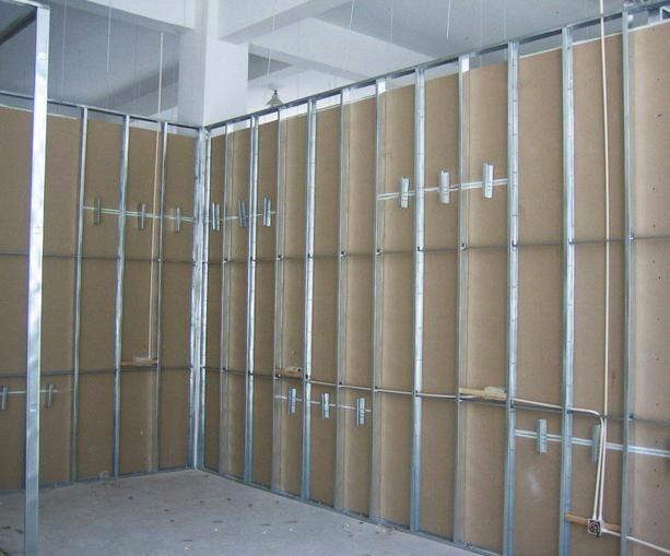 深圳专业办公室装修 隔断 玻璃隔断 石膏板隔断吊顶