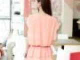 2013夏装新款女装上衣韩版通勤荷叶短袖雪纺衫女小衫大码