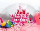 福州粉色鲸鱼岛租赁,里面的高配置粉色乐园滑梯,海洋球出租