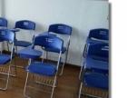 加厚折叠培训靠椅