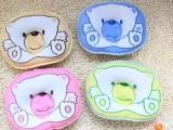 批发供应婴儿定型枕头 婴儿小熊图案枕头 宝宝枕