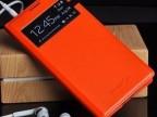 超薄 三星S4手机套I9500开屏保护套壳 拆后盖智能开屏原装皮套