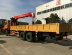 上海东风后八轮国五12吨随车吊多少钱一辆厂家价格是多少钱