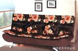 宜家双人折叠床1.5米布艺沙发单人床小户