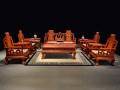 缅甸花梨沙发六件套价格