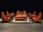 缅甸花梨木客厅沙发价格