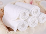 六层新生儿纯棉生态棉纱布尿布5片装 婴儿尿片46*17