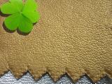 珠光纳帕纹pu皮革人造革pu革皮革面料 厚约0.68mm 质量保