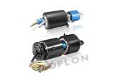 气液电混合滑环 360度旋转同时传输气体,液体和电气