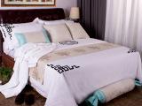 厂家批发  宾馆酒店布草五星级酒店床上用品四件套纯棉床单被罩