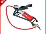 脚踏车载打气泵充气泵 打气泵便携式车用脚踩式打气筒