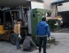 上海嘉定区南翔吊车出租10吨叉车出租设备搬运移位吊装