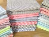 厂家直销 色织布 高档男女衬衫布料 全棉衬衣面料 条纹布料