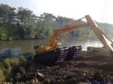 黃南水上挖掘機專業清淤濕地開發優惠實在