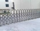 光明工厂大门不锈钢电动伸缩门安装订购