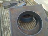 徐州火焰切割特厚铁板按图零割异形件