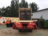 改装二手青储机玉米秸秆苞谷高粱粉碎回收机青贮机厂家
