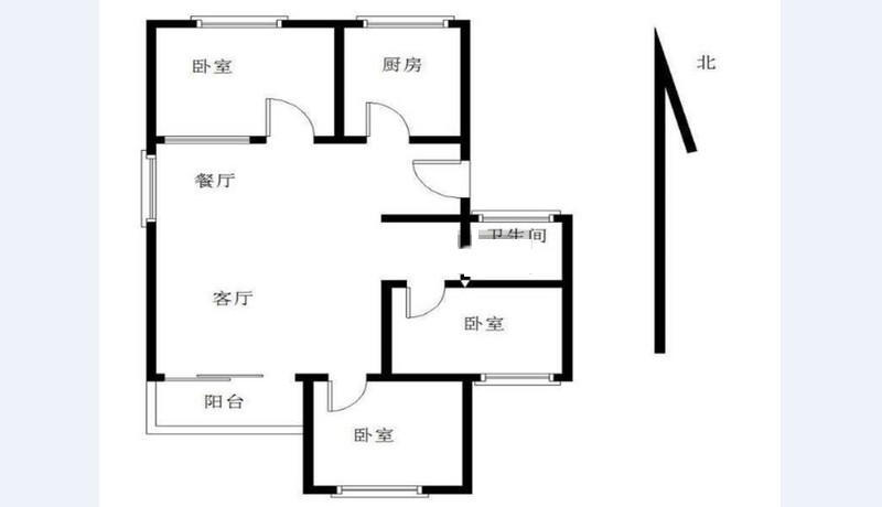 前埔古楼南里 3室2厅 干净温馨 新装修 交通便利
