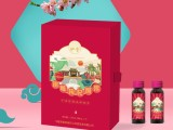 树莓枸杞礼盒高端礼盒设计