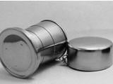 大号户外折叠杯旅行便携式不锈钢伸缩水杯