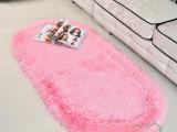 韩国弹力丝椭圆形加厚日韩风床边床前毯儿童房间卧室满铺地毯垫