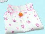 西松屋 大号93cm 婴儿睡袋 6层全棉纱布 舒适 透气  &m