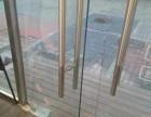 南充玻璃门维修 换地弹簧 维修各种门 所有问题