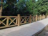 西藏水泥仿木栏杆生产厂家,仿木纹护栏制作工艺