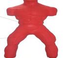 室内健身器材批发 立式硅胶不倒翁拳击沙袋硅胶人形沙包 发泄减压