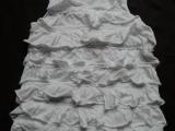 美国原单 crewcuts 纯棉 全身大褶小V领公主裙(2-12
