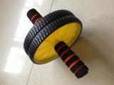 健腹轮腹肌轮双色高棉健腹轮|健身轮|双轮|腹肌轮 锻炼腹肌背阔肌
